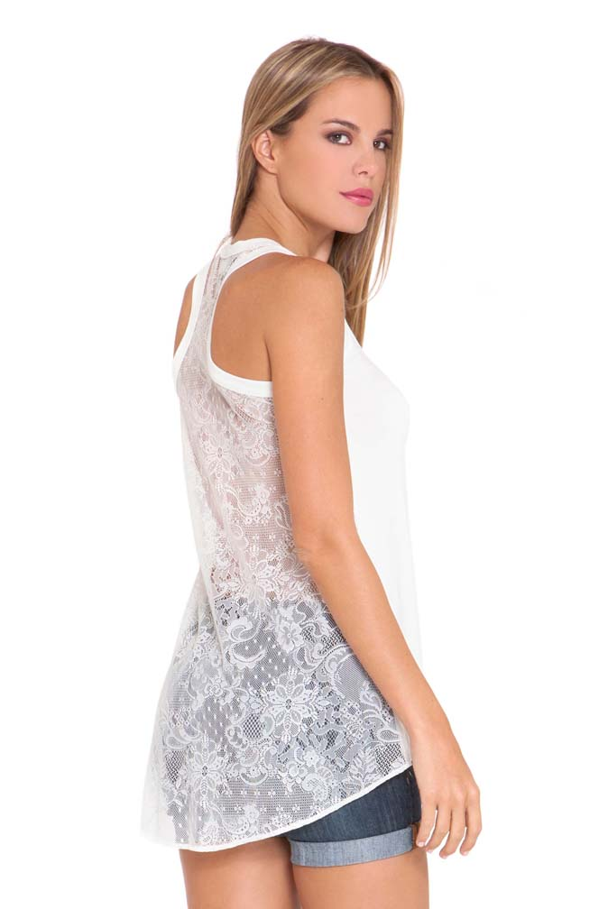 93a2984a1536d Olian Jaci Lace Back Racerback Maternity Tank Top | Maternity Clothes on  Sale at Due Maternity