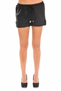 SOLD OUT Olian Lina Maternity Drawstring Linen Shorts