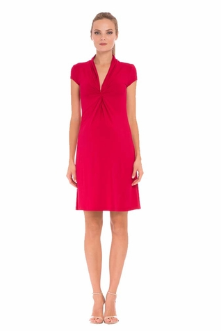 SOLD OUT Olian Lucy Cap Sleeve V-Neck Maternity Dress