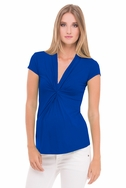 SOLD OUT Olian Lucy Cap Sleeve V Neck Maternity Top