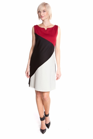 SOLD OUT Olian Pamela Color Block Maternity Shift Dress