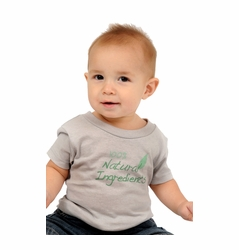 "One Creative Mama Short Sleeve Tee ""100% Natural Ingredients"""