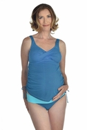 SOLD OUT Prego Maternity Adjustable Side Tie Twist Tankini