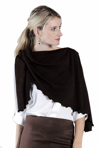 Reno Rose Pirose Multiway Nursing Cover Scarf - Cozy