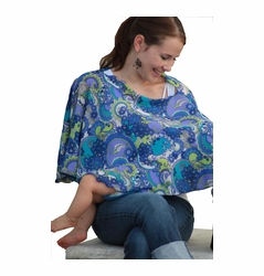 Reno Rose Pirose Multiway Nursing Cover Scarf - Ramon