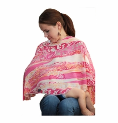 Reno Rose Pirose Multiway Nursing Cover Scarf - Stephanie
