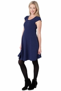 SOLD OUT Ripe Maternity Cap Sleeve Skater Dress