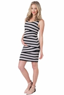 SOLD OUT Ripe Maternity Criss Cross Stripe Dress