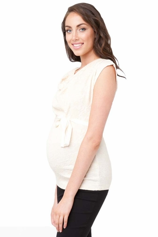 SOLD OUT Ripe Maternity Flora Lace Top