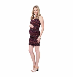 SOLD OUT Ripe Maternity Ikat Bodycon Tube Dress