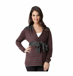 Ripe Maternity Manor Wrap Cardigan Sweater