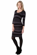 SOLD OUT Ripe Maternity Nursing Stripe Tube Dress