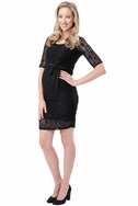 Ripe Maternity Paisley Lace Cocktail Dress