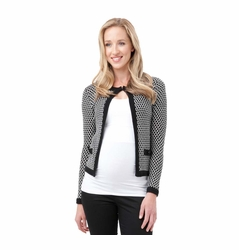 SOLD OUT Ripe Maternity Waffle Weave Cardi