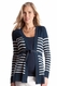 SOLD OUT Seraphine Ariel Stripe Maternity Cardigan Sweater