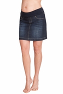SOLD OUT Seraphine Betsy Mid Length Denim Maternity Skirt