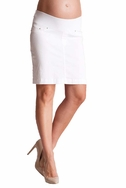 SOLD OUT Seraphine Blakely Slim Fit Underbump Denim Maternity Skirt