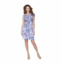 Seraphine Blossom Knot Front Maternity and Nursing Dress