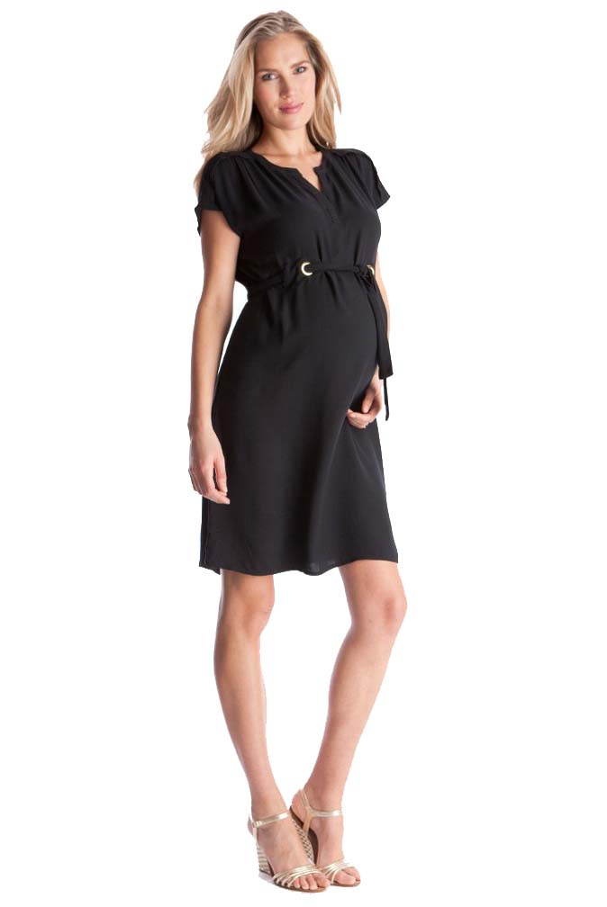 fcc34ac0598 Seraphine Camden Woven Crepe Shift Dress