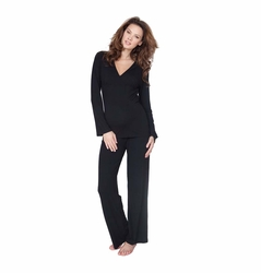 SOLD OUT Seraphine Camille Bamboo Maternity Nursing Pajama Set