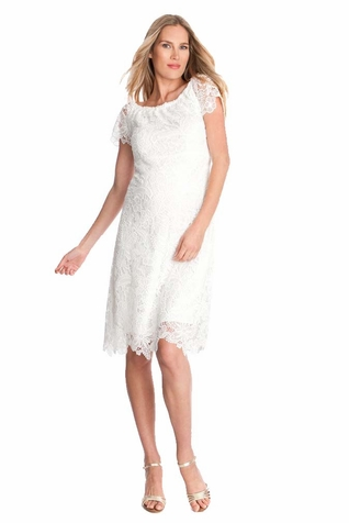 TEMPORARILY OUT OF STOCK Seraphine Clementine Lace Maternity Dress