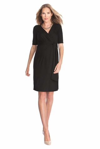SOLD OUT Seraphine Ellie Jersey Wrap Maternity Dress