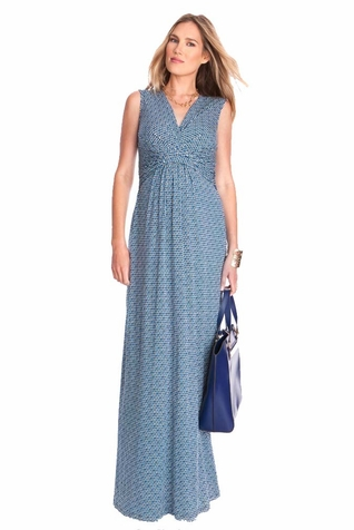 SOLD OUT Seraphine Emory Maternity Nursing Maxi Dress