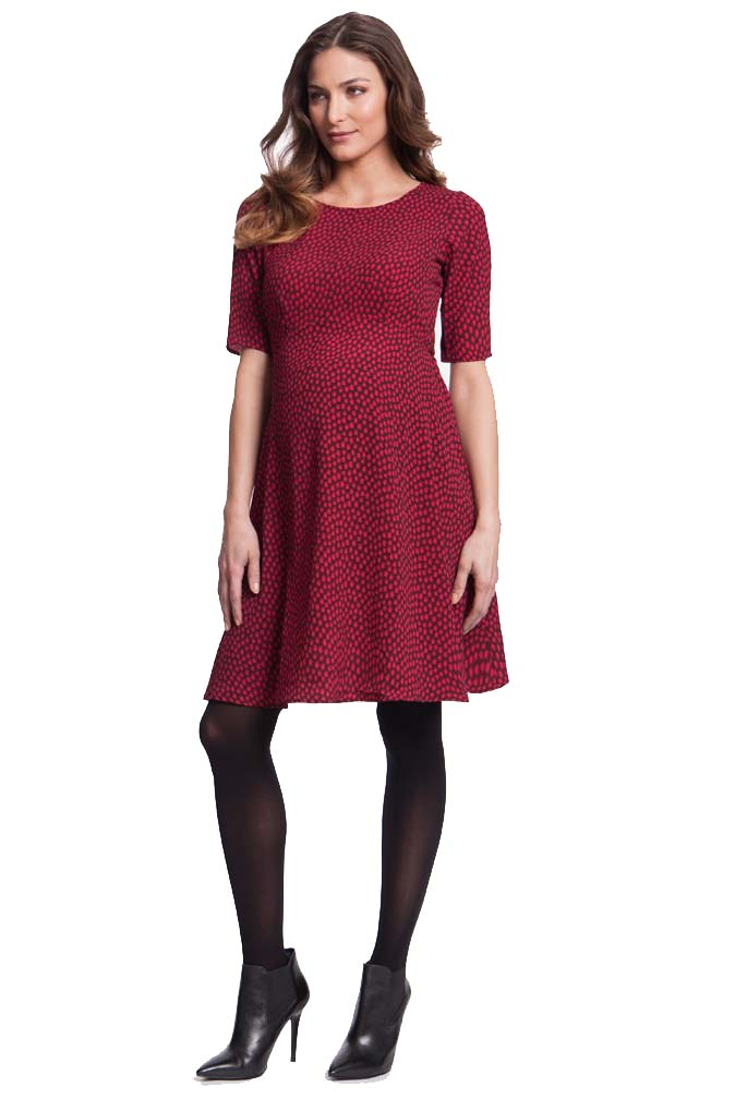 Seraphine Florette Fit And Flare Maternity Dress | Maternity ...