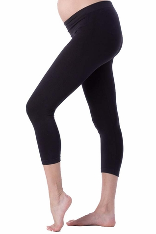 TEMPORARILY OUT OF STOCK Seraphine Holi Seamless Cropped Maternity Leggings