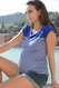 SOLD OUT Seraphine Juno Striped Maternity And Nursing Top