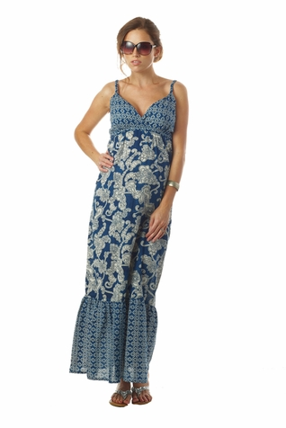 TEMPORARILY OUT OF STOCK Seraphine Matilda Bohemian Printed Maternity Nursing Maxi Dress