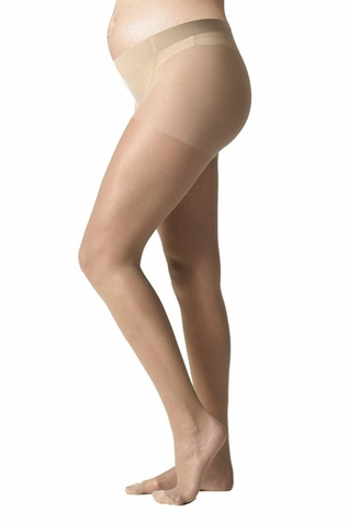 TEMPORARILY OUT OF STOCK Seraphine Mother 15 Denier Sheer Overbelly Maternity Pantyhose