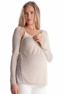 SOLD OUT Seraphine Serenity Maternity Nursing Sweater