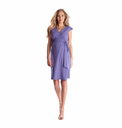 Seraphine Tanya Maternity Nursing Wrap Dress