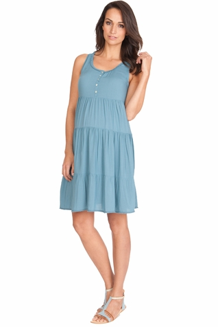SOLD OUT Seraphine Victoria Babydoll Maternity And Nursing Dress