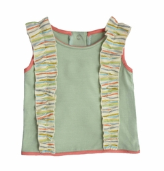 Shirley & Victor by Majamas Baby Girl Elsa Top