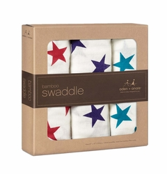 SOLD OUT  Aden + Anais Bamboo Swaddles 3 Pack - Celebration
