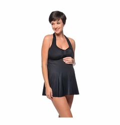SOLD OUT Prego Babydoll Halter Maternity Tankini Swimsuit