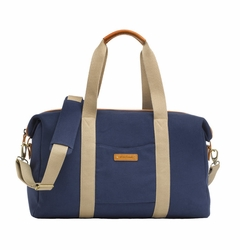 TEMPORARILY OUT OF STOCK Storksak Bailey Weekender Diaper Bag Set - Navy