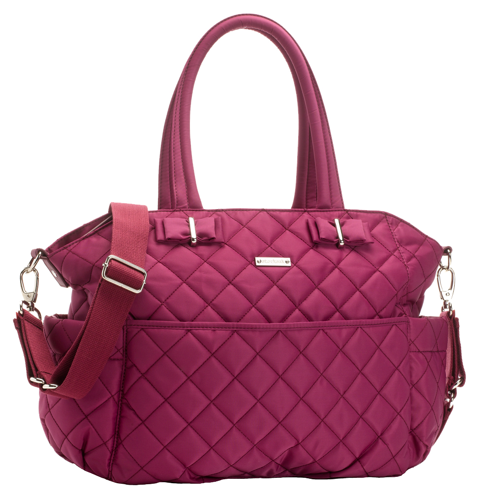 TEMPORARILY OUT OF STOCK Storksak Bobby Quilted Diaper Bag And ... : quilted diaper bags - Adamdwight.com