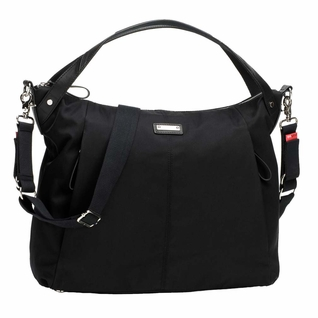 Storksak Catherine Luxe Nylon Diaper Bag - Black