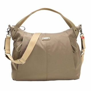 TEMPORARILY OUT OF STOCK Storksak Catherine Luxe Nylon Diaper Bag - Moss