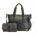 SOLD OUT  Storksak Eden Vegan Leather Diaper Bag - Black