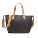 SOLD OUT Storksak Noa Coated Canvas Diaper Bag Set - Black