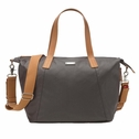 SOLD OUT Storksak Noa Coated Canvas Diaper Bag Set - Grey