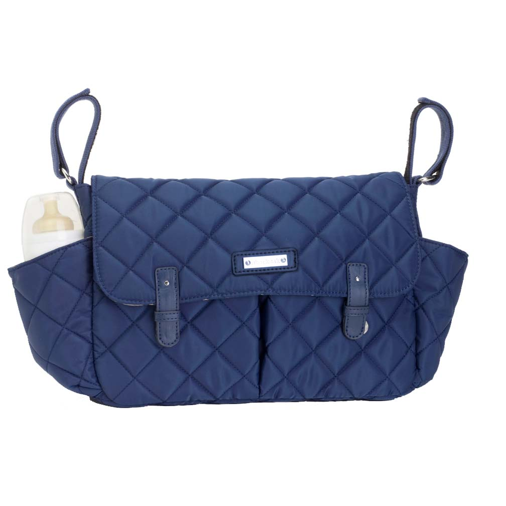Storksak Quilted Stroller Caddy Organizer | Maternity Clothes