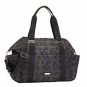 SOLD OUT  Storksak Sandy Nylon Diaper Bag Set - Grey Print