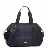 TEMPORARILY OUT OF STOCK Storksak Sandy Nylon Diaper Bag Set - Navy Print