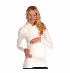 TEMPORARILY OUT OF STOCK Tees By Tina Long Sleeve Cowl Neck Top