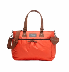 TEMPORARILY OUT OF STOCK Babymel Lily Tote Diaper Bag - Coral